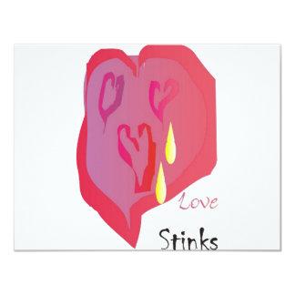 Love Stinks Personalized Invitation