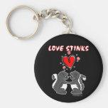 Love Stinks Keychains
