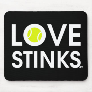 LOVE STINKS MOUSE PAD