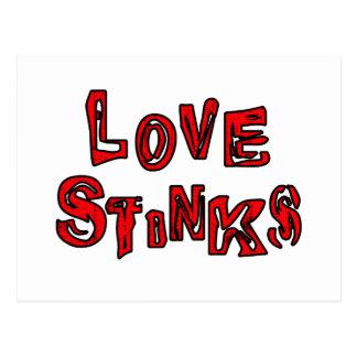 Love Stinks Postcard