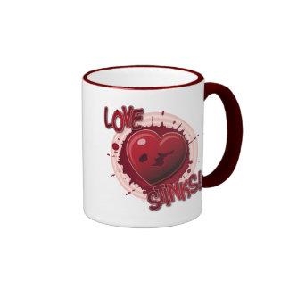 Love Stinks! Ringer Mug