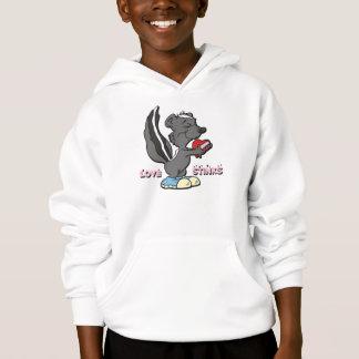 Love Stinks Skunk Hoodie