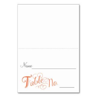 Love Story Escort Card