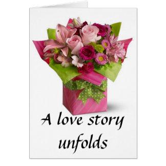 Love Story-Invitation Card