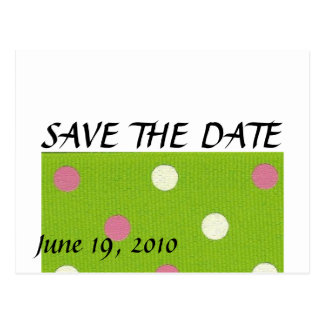 Love Story-SAVE THE DATE Postcard