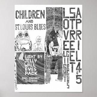 Love Street Light Circus flyer Apr4&5'69 Poster