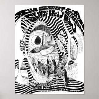 Love Street Light Circus flyer Dec13&14'68 Poster