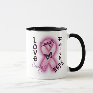 Love Strength and Courage Mug