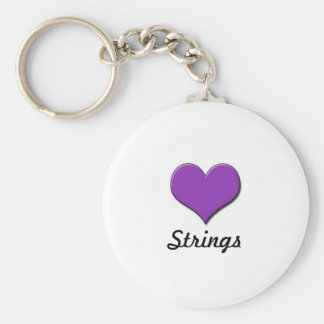 Love Strings- Keychain