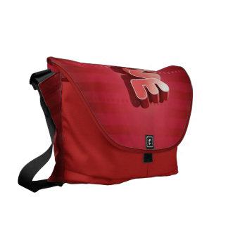 Love Stripes Courier Bag