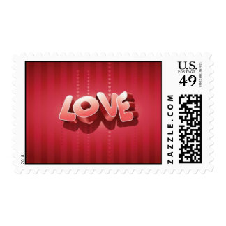 Love Stripes Stamps