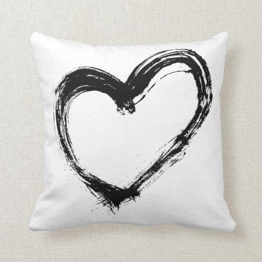Love Stroke Cushion Pillows