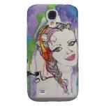Love Struck Art Painting Samsung Galaxy S4 Case
