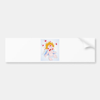 Love Struck design Bumper Sticker