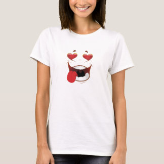 Love Struck Funny Face T-Shirt