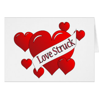 Love Struck Greeting Card