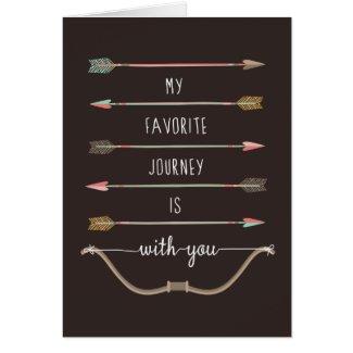 Love Struck Greeting Greeting Card