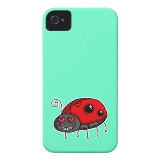 Love Struck Ladybird/Ladybug Case-Mate iPhone 4 Cases