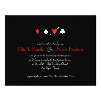 Love Struck Las Vegas Wedding Invitation
