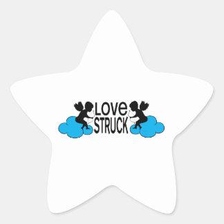 Love Struck Star Stickers
