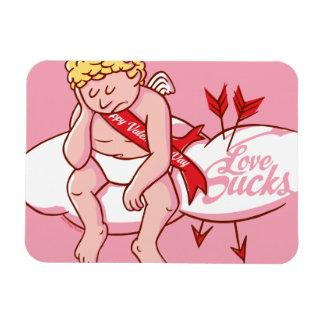 Love Sucks Cupid Anti-Valentine's Day Magnet