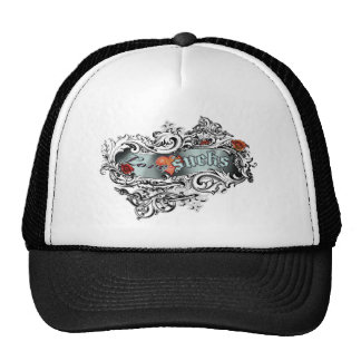 Love Sucks Ornate Trucker Hat