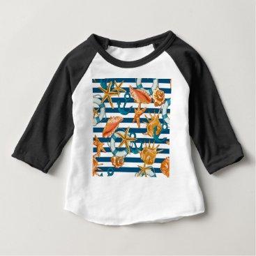 Beach Themed Love Summer Baby T-Shirt