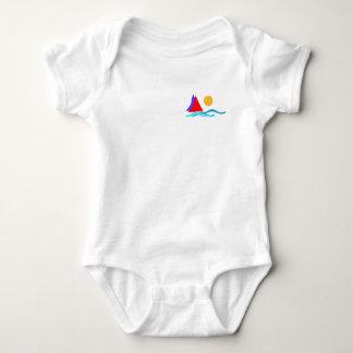 love summer - Sailing Baby Bodysuit