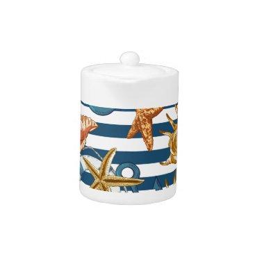 Beach Themed Love Summer Teapot
