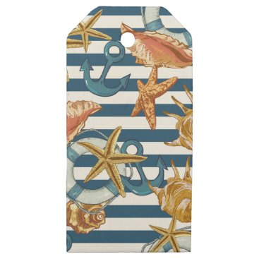 Beach Themed Love Summer Wooden Gift Tags