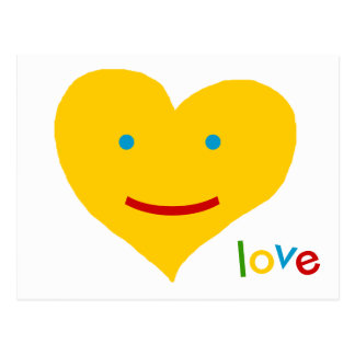 love sunny days - smile postcard