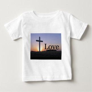 Love sunset cross baby T-Shirt