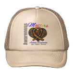 Love Support Advocate - Autism Awareness Mesh Hat