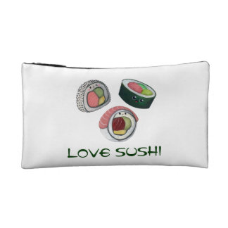 Love Sushi Makeup Bag