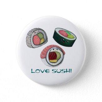 Love Sushi Pins