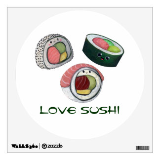 Love Sushi Room Graphic