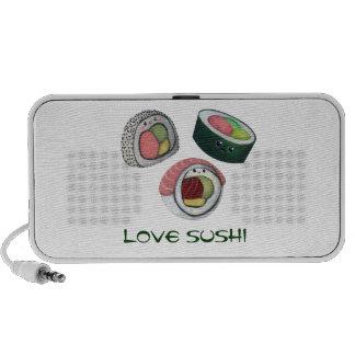 Love Sushi Portable Speakers