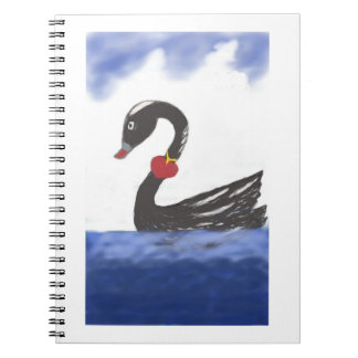 Love Swan Photo Note Book 80 pages