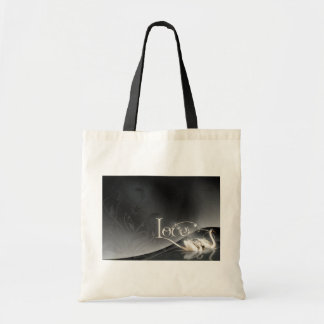 Love Swans Wedding Budget Tote Bag