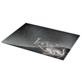 Love Swans Wedding Cutting Boards