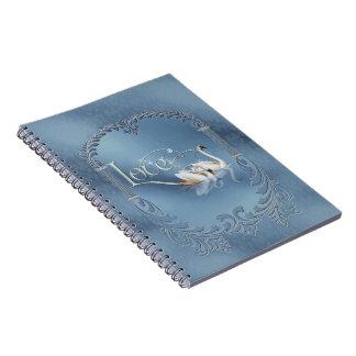 Love Swans Wedding Note Book