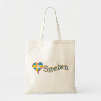 Love Sweden Tote Bag