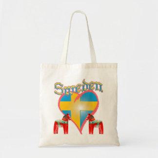 Love Sweden Canvas Bag