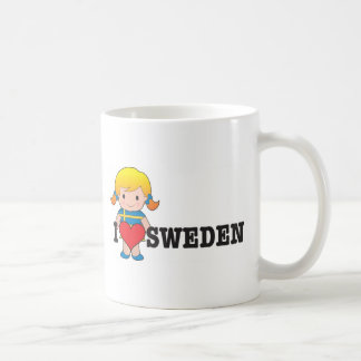 Love Sweden Coffee Mug