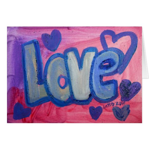 Love Sweet Candy Greeting Card or Note Cards