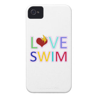 LOVE SWIM Case-Mate iPhone 4 CASE