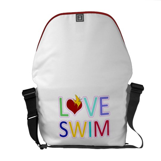 LOVE SWIM MESSENGER BAG
