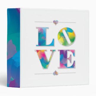 LOVE swirly paint binder