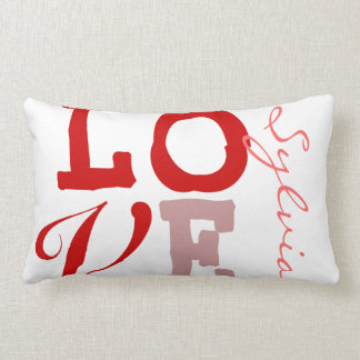 Love Sylvia Personalized Name Pillowcase for Girls Pillow