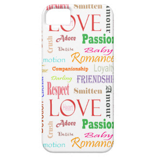 Love Synonyms by Shirley Taylor iPhone SE/5/5s Case